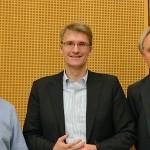 Dr. Jan-Hinrik Schmidt, Elmar Theveßen, Prof. Dr. Volker Lilienthal