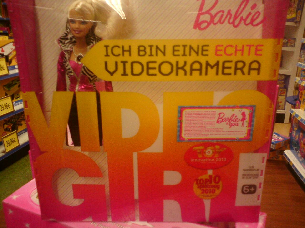 Barbie ist eine Kamera