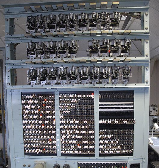 Computer at Bletchley Park, UK
