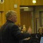 Clive Norris spricht über ANPR, Hamburg Nov. 2011
