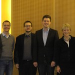 Nils Zurawski (Jury), Jan-Hinrik Schmidt (Jury), Klaus Uhrig (BR), Till Krause (Preisträger), Annette Hillebrand (Jury), Volker Lilenthal (Jury)