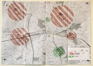 Julia Park-Raab: Graffiti-Karte