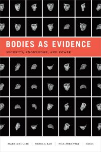 Buch-Cover: Bodies as Evidence. Security, Knowledge, and Power.